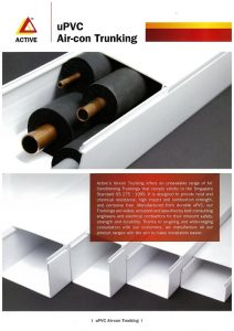 Active Aircon Plastic Trunking